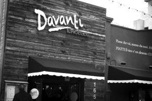 Located in San Diego's Little Italy, Davanti Enoteca blends a traditional Italian menu with a modern flare. Menu items range from the familiar flatbreads to lesser known Riccio di Mare e Granchio. Photo by Siddarth Atre /Guardian