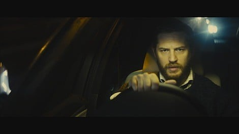 Ivan Locke (Hardy) drives to London after receiving a surprising phone call that turns his life upside down. Photo used with permission from A24.