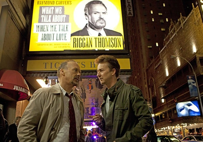 Michael Keaton plays a former A-lister-turned-Broadway-director. Photo courtesy of AceShowBiz.