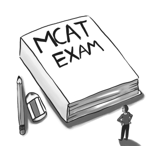 The new changes to the now seven hour long MCAT 2015 exam have lasting consequences for premeds planning to take the exam in 2015. Illustration by Rocio Plascencia.