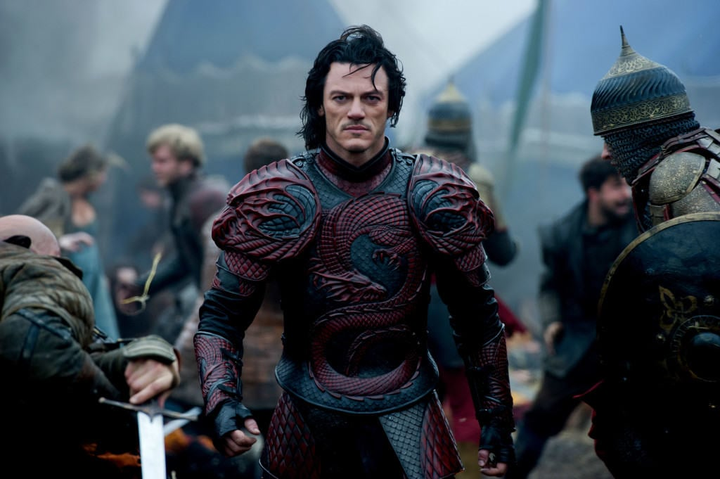 Luke Evans tries to make a noble superhero out of a classic character. Photo courtesy of Collider.