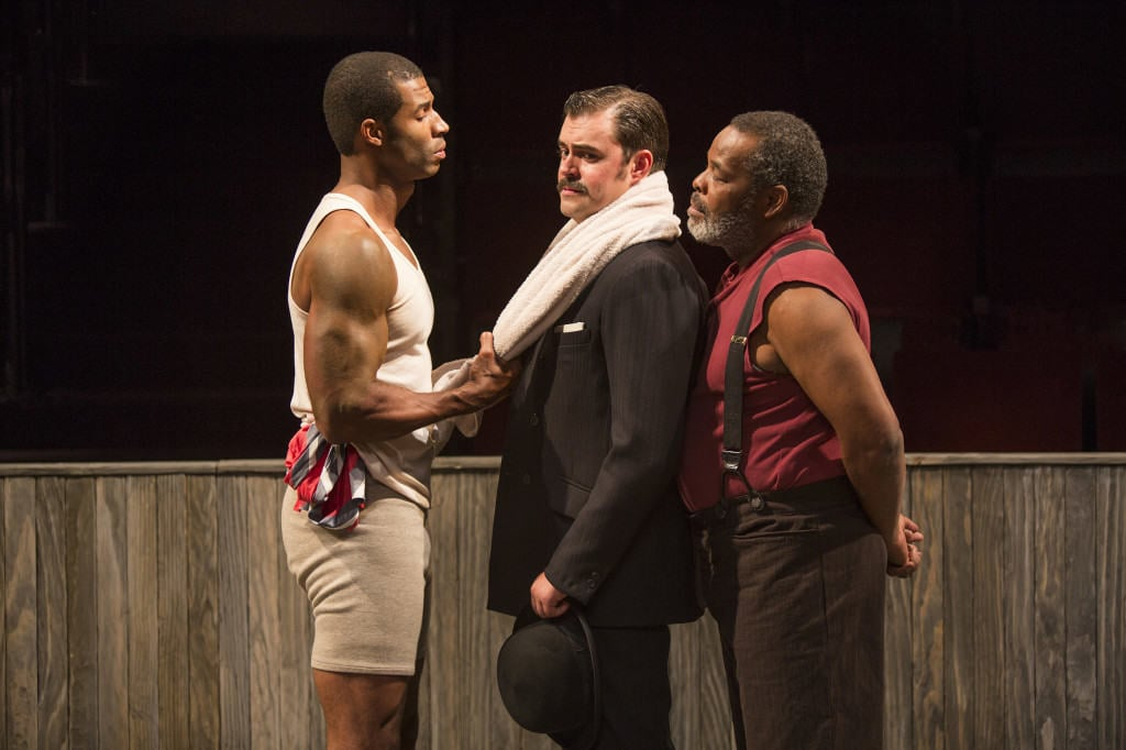 """""""The Royale"""" refuses to beat around the bush of early 20th century racial issues. Photo used with permission from Jim Cox via The Old Globe."""