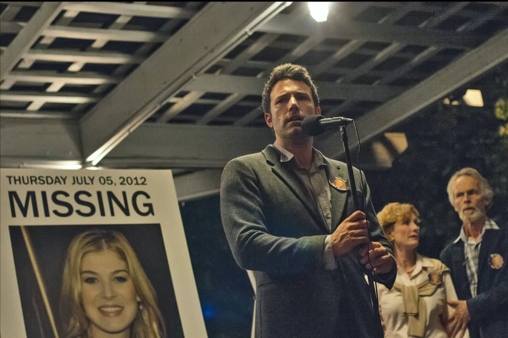 Nick Dunne (Ben Affleck) desperately searches for his missing wife. Photo used with permission from Twentieth Century Fox.