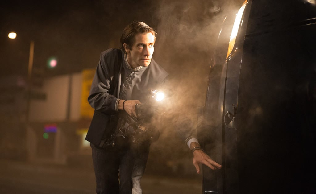 Gyllenhaal gives a compelling performance of Lou Bloom, a character that will stand out in his career for years to come. Photo used with permission from Open Road Films.
