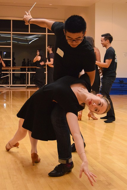 UCSD Dancesport at Practice. Photo by Patrick Lazo/UCSD Guardian