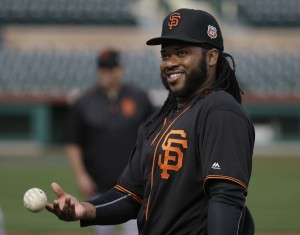 The Giants signed Johnny Cueto for $130 million over six seasons to a pitching staff that already ranked 9th in the league in ERA last season. Photo courtesy of Associated Press.