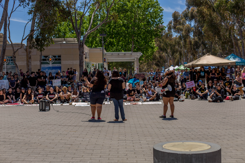 ucsd student organizations send chalkback demands to administration