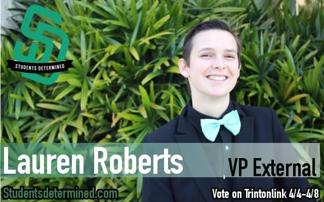 VP External Lauren Roberts