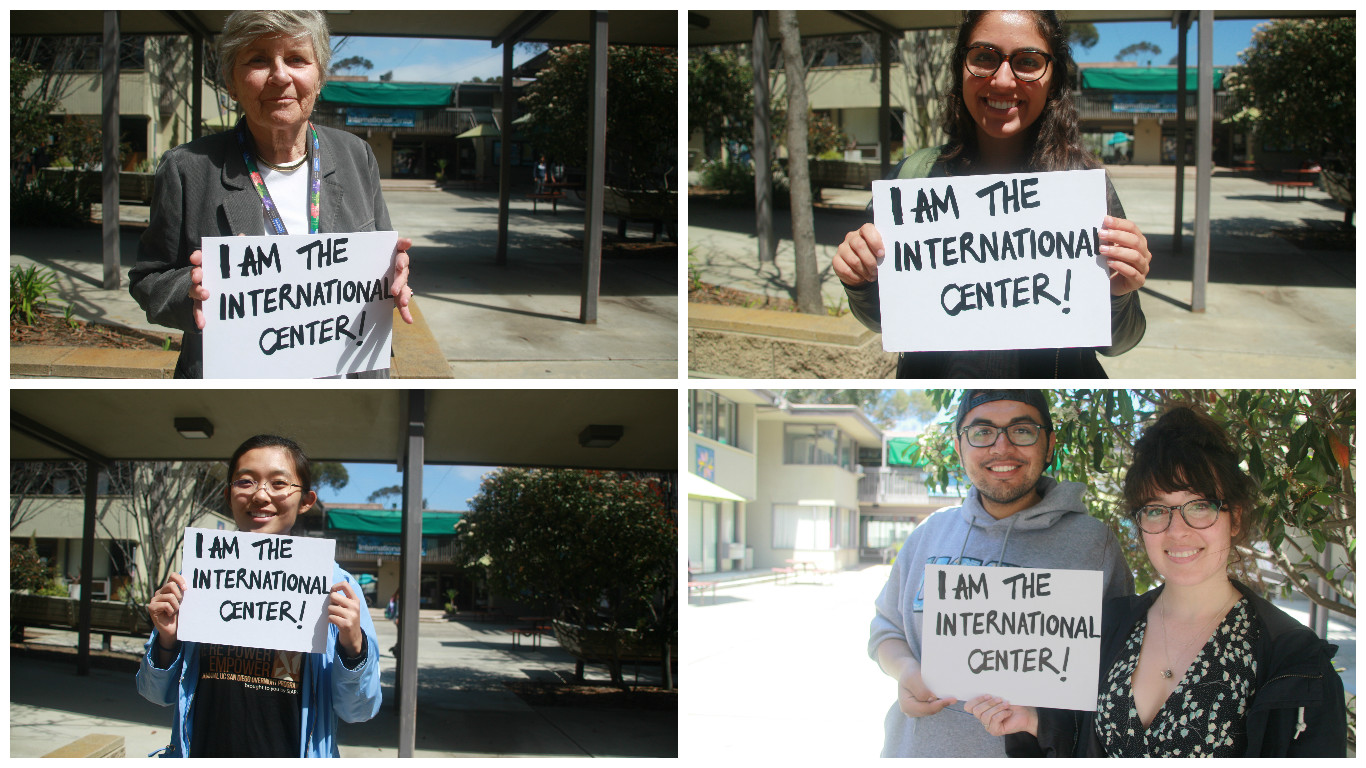 Photo courtesy of Save the UCSD International Center