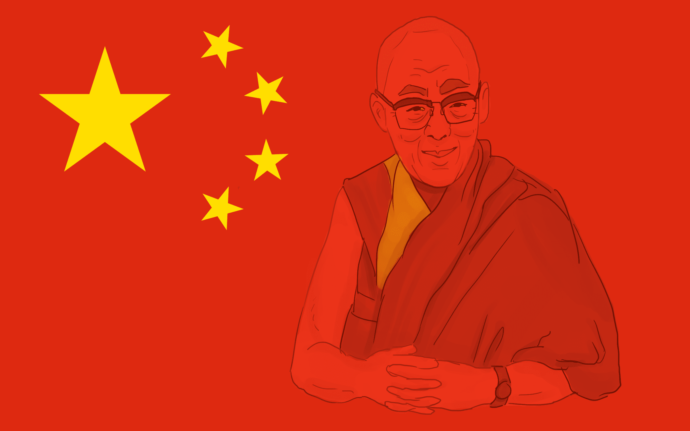 Why Chinese International Students Hate The Dalai Lama