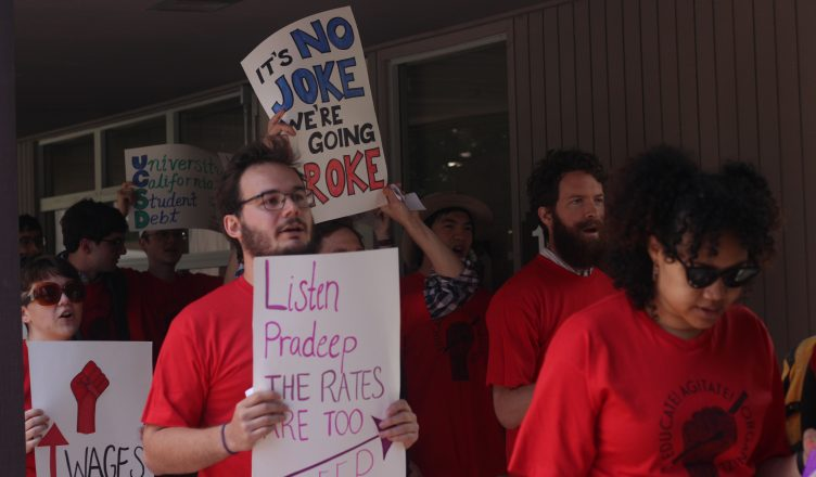 Students Protest HDH Rent Increases for Graduate Housing - UCSD Guardian