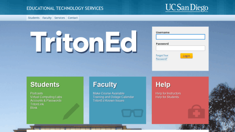 Ucsd 2020 Calendar TritonEd to be Completely Phased Out by Spring of 2020   UCSD Guardian